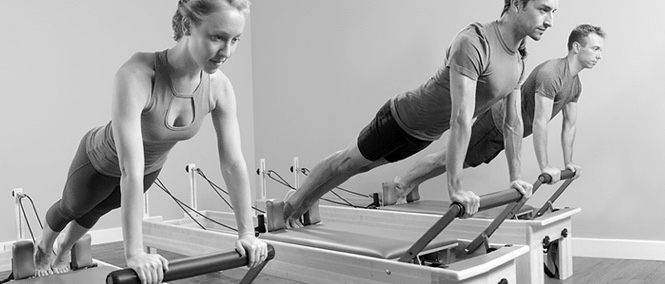 Pilates machine, Pilates reformer, Plank, Abdominals