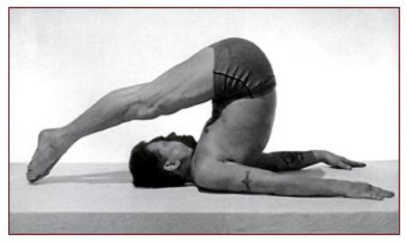 Joseph Pilates Performing Rollover