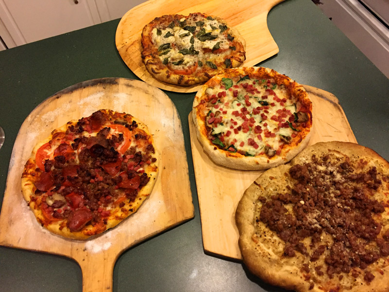 Pizza for a party -