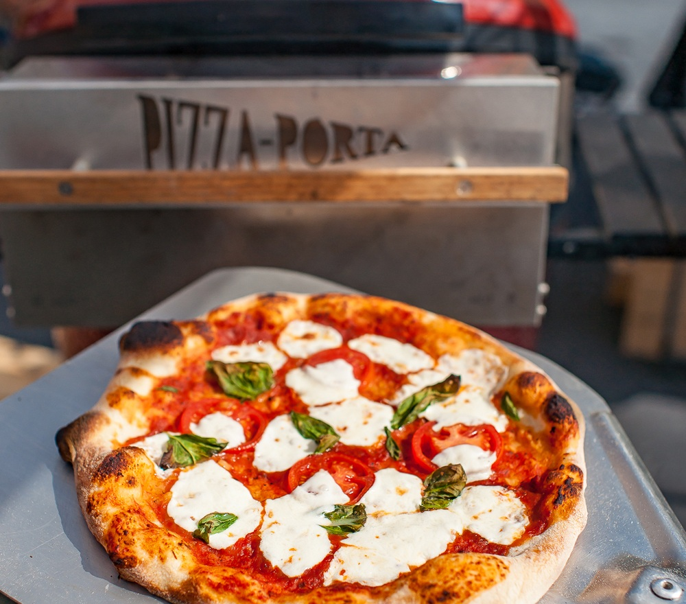 An affordable wood fired oven