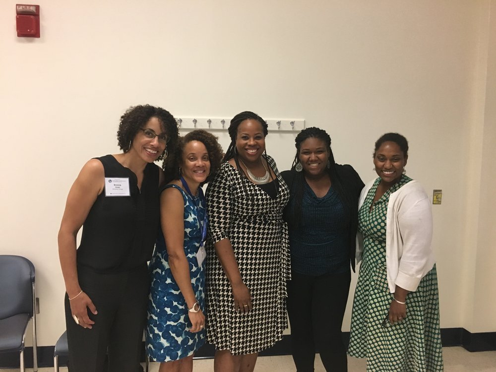 W/ Co-Panelists Brenna Greer, Tera Hunter, Tiffany Gill and Marcia Chatelain after our Black Women and Global Captilism panel!
