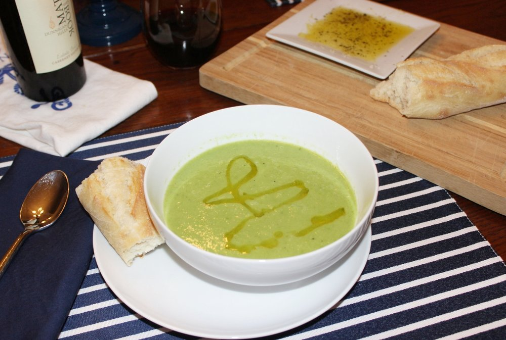 Pea & Fennel Soup