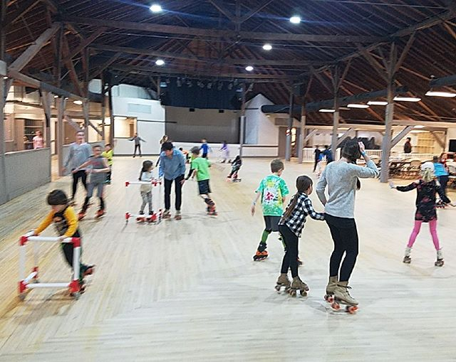 Come on out to the Historic Bush Tabernacle at @firemans_field to skate! Join us on this LCPS teacher work day for some free skate! We're open until 4:30 pm.