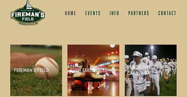 Check out our new website at https://firemansfield.com/ ! The website is for the entire @firemans_field complex including the Bush Tabernacle and the @purcellville.cannons!  Updates and events can be found on our website as well as our social media pages. Link in our bio!