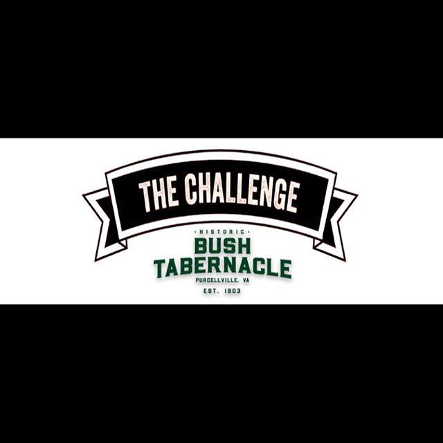 Tonight! The Challenge at the Bush Tabernacle at @firemans_field begins! 6:00 - Doors Open, 7:00 - Challenges start. Home school vs Woodgrove vs Loudoun Valley!