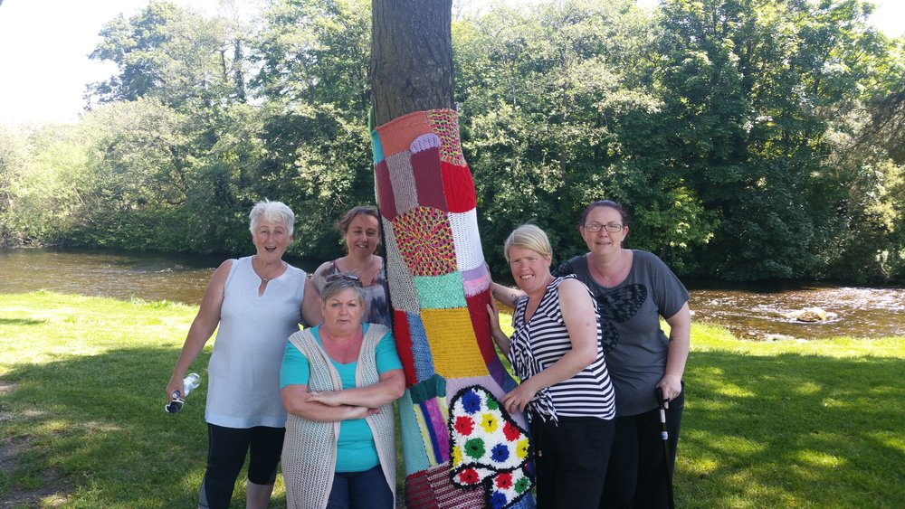 Recent Yarn Bomb program