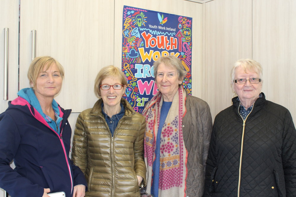 Homework Club Volunteers: Lisa Duggan , Patricia Whyte, Annette Stack, Marie Walsh, Joe Coogan