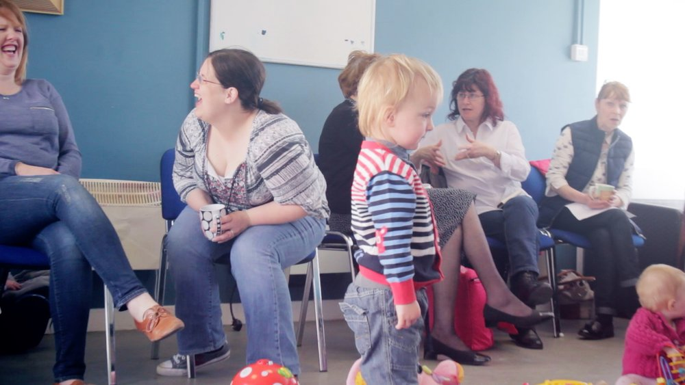 Parent & Toddler Group - Parent, Baby and Toddler Groups can provide a stepping stone for children preparing to go to a playgroup. These groups provide children with a relaxed, friendly environment in which they are able to play independently with other children, while still having the security of their parents close by. This can be a great help in building a child's confidence. The group offers a variety of activities such as play dough, painting and water play for the children, as well as Pediatric first Aid, Parenting Classes, plus others as the need arises.