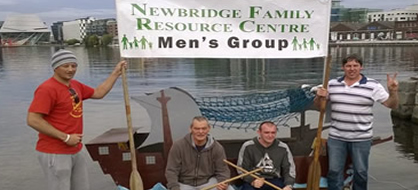 Men's Group - The Men's Group runs from 11 am - 1 pm each Monday (excluding Bank Holidays ) and is also open to all men who wish to get involved in tasks chosen by the group, whether it be construction of their projects, renovation of their Men's Group space (cabin) or even just to hang out to break the cycle of thinking that there's nothing for them to do on a Monday morning.
