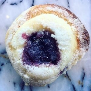 Blueberry kolache from Breadboard Bakery.