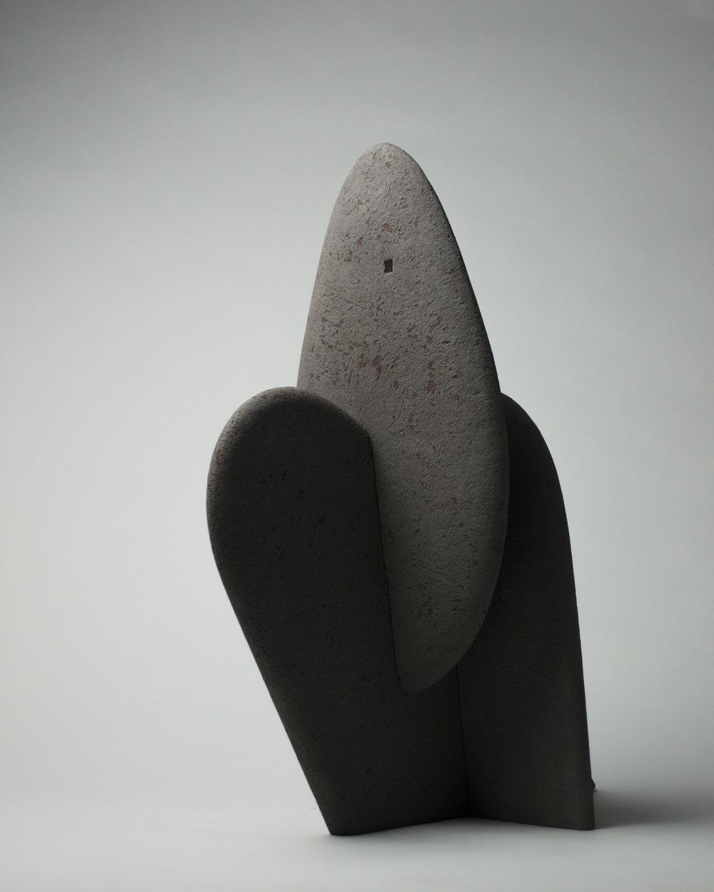 Figure en équilibre #4, 2017 - 20½ x 8¼ x 16¾ in