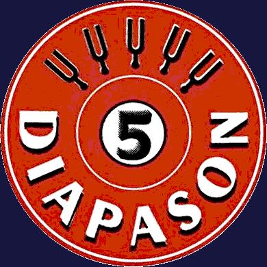 5 de Diapason. Logo.