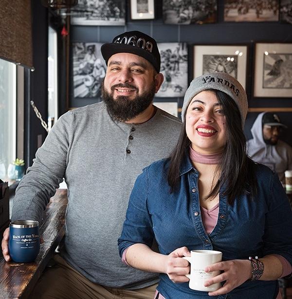 Jesse and Mayra    Jamie Ramsay