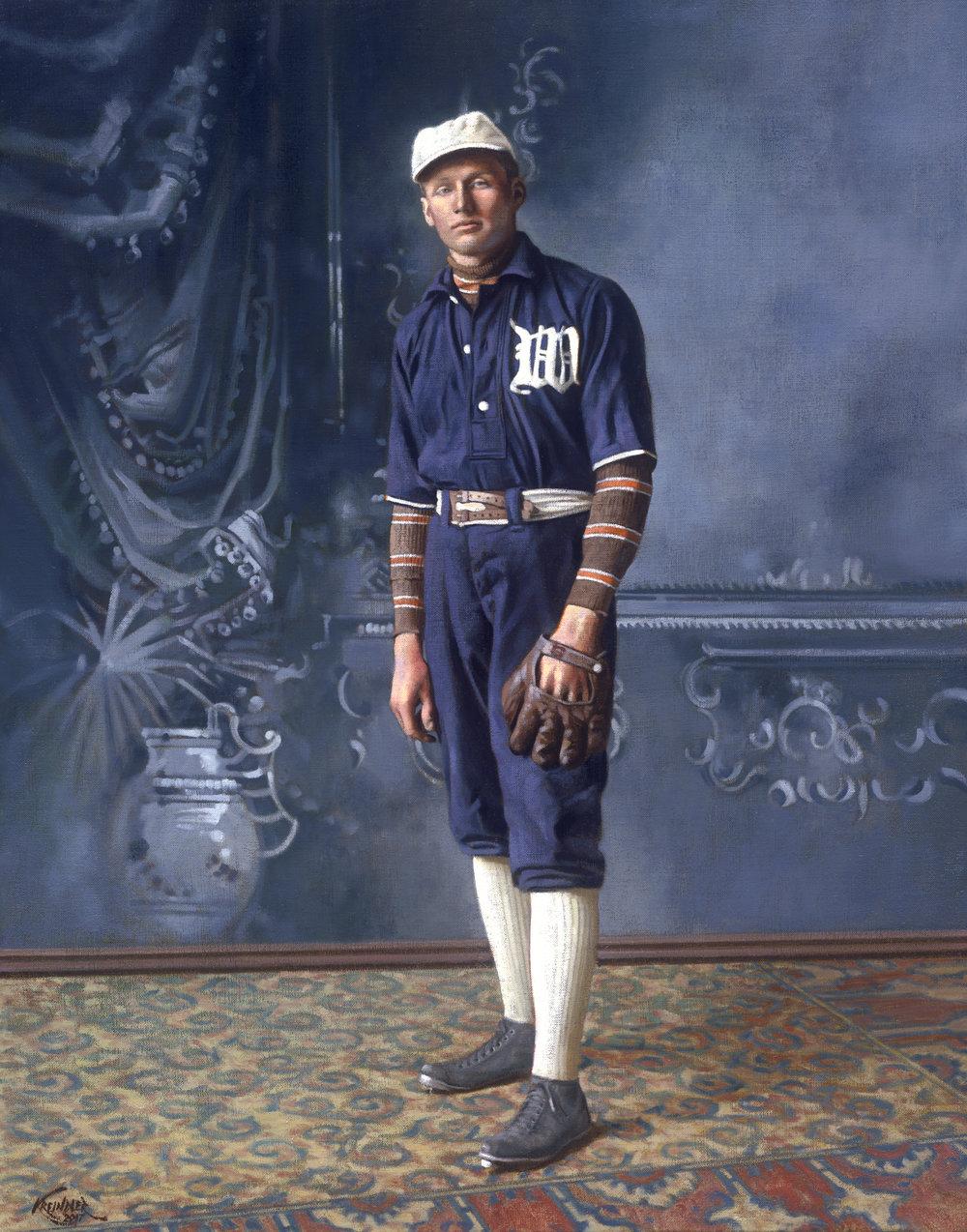 Walter Johnson, 1907