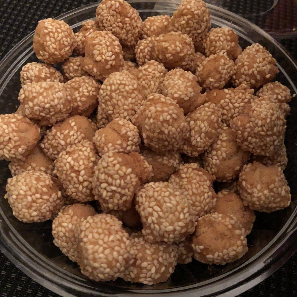 Sesame Ball Cookies
