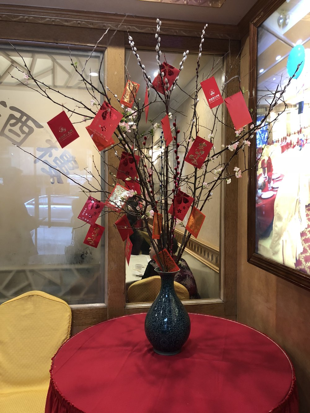 Chinese New Year - Red Envelope Tree