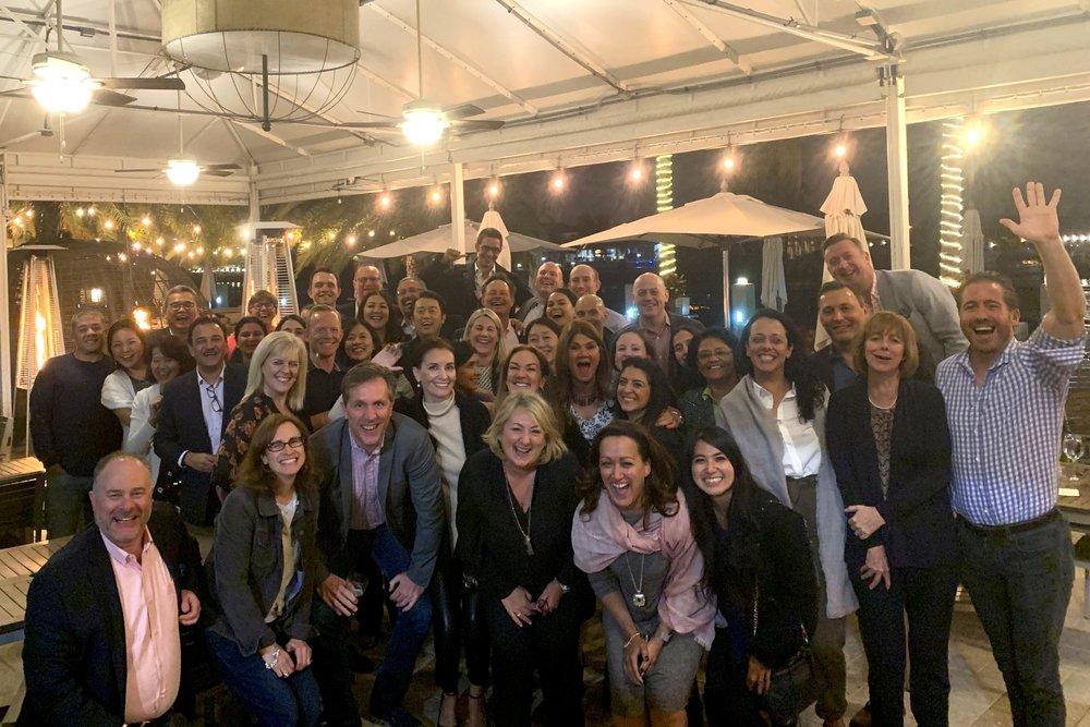 Group Shot of the TLS Senior Leadership Team & Market Heads