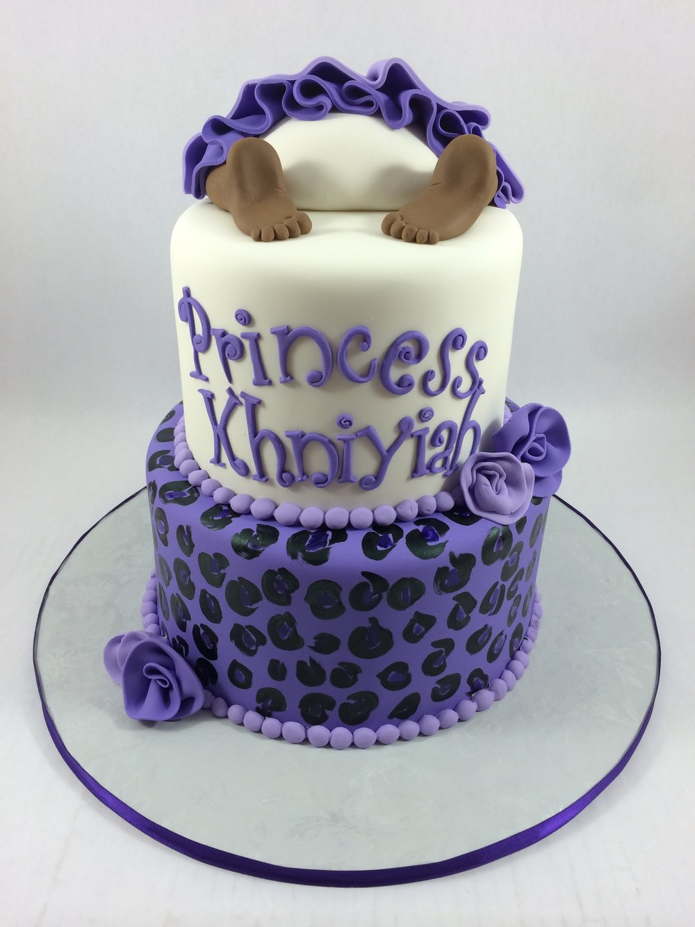 Cake baby princess bottom.JPG