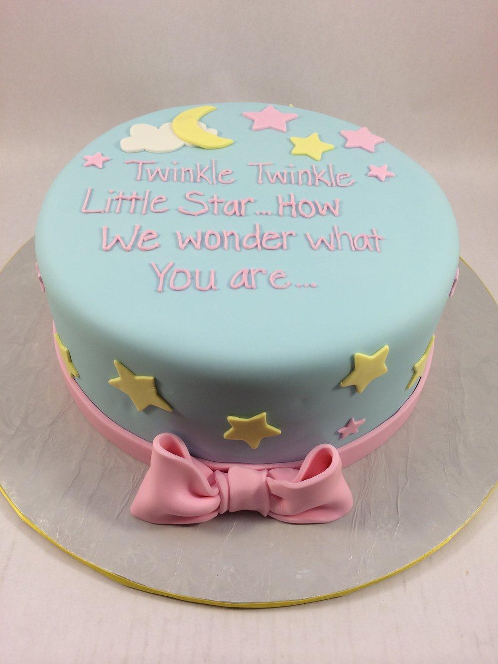 Cake gender reveal twinkle twinkle.JPG
