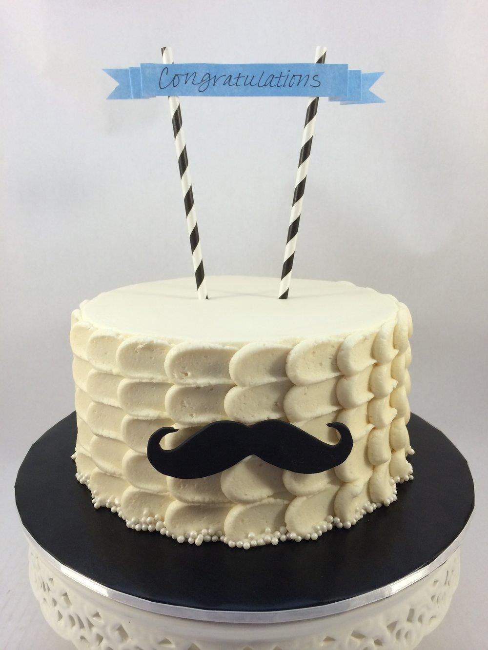 Cake mustache congratulations.JPG