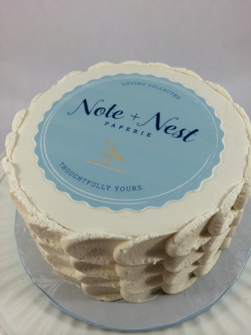 Cake note and nest.JPG