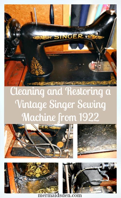 Restoring a Vintage Singer 99k — The Mermaid's Den