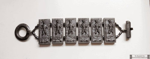Han Solo in Carbonite Resin Bracelet