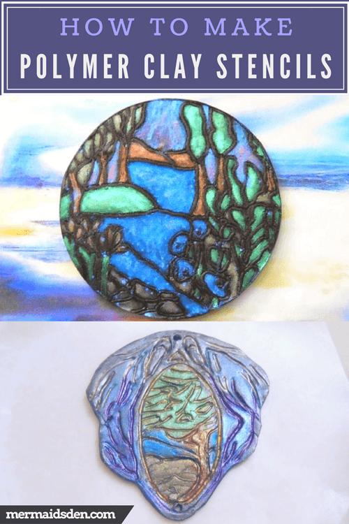 Polymer Clay Tutorials: Make Your Own Stencils