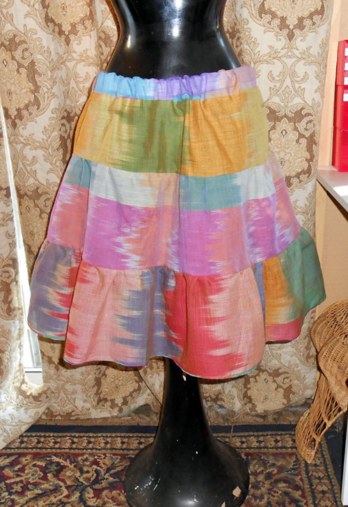 Pattern Review Simplicity 2414: One Hour Skirt, Two Yards of Fabric