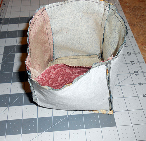 Sewing Tutorial: Thread Catcher Basket Free Pattern