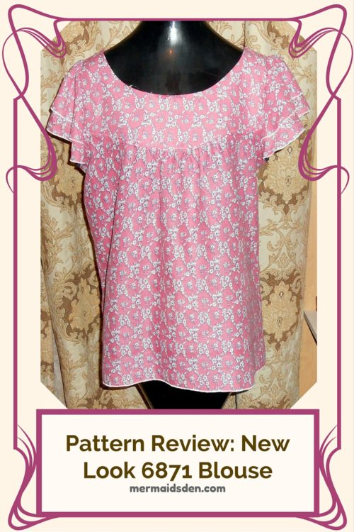Pattern Review: New Look 6871 Blouse