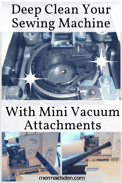 How to Use Mini Vacuum Attachments to Clean Your Sewing Machine or Serger