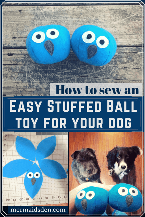 Sew an Easy Stuffed Ball Toy for Your Dog