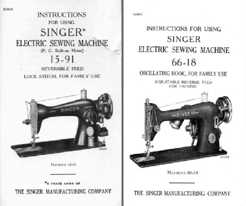 Tips For Buying A Vintage Sewing Machine The Mermaid's Den Beauteous Singer Electric Sewing Machine 66 18 Value
