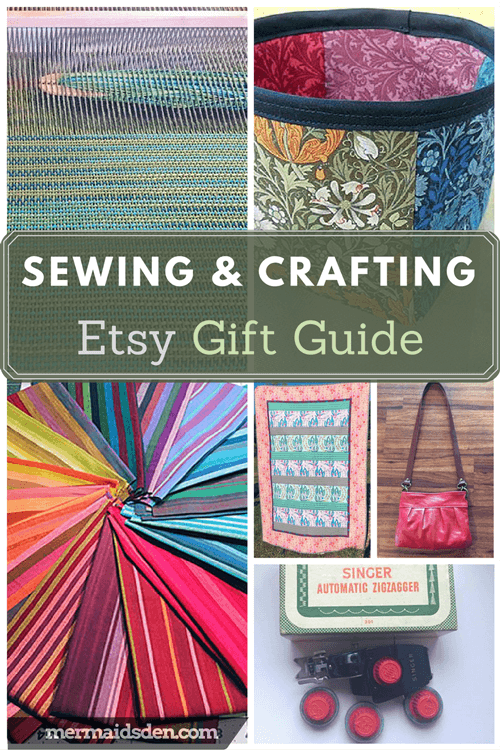 Sewing and Crafting Etsy Holiday Gift Guide