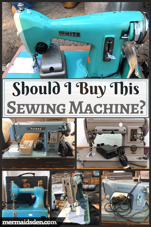 Vintage Sewing Machines I Didn't Buy and Why