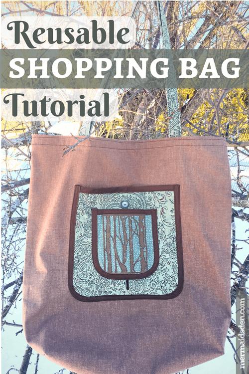 Reusable Shopping Bag Tutorial The Mermaids Den