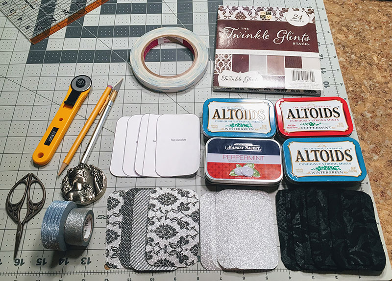 DIY Sewing Kits out of Altoids Tins