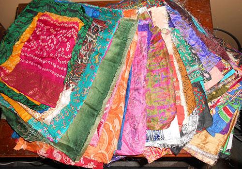 Sew This Silk Sari Pillow Sham