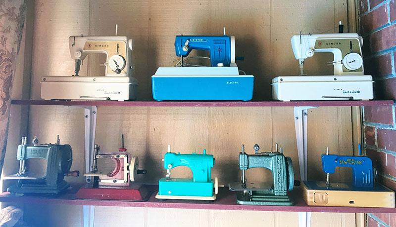 Vintage Toy Sewing Machines