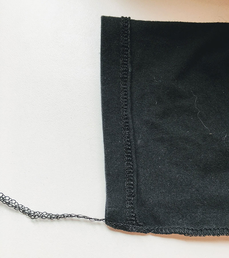 Repair Worn Seams on Leggings