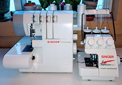 Singer ProFinish Serger and Singer Tiny Serger