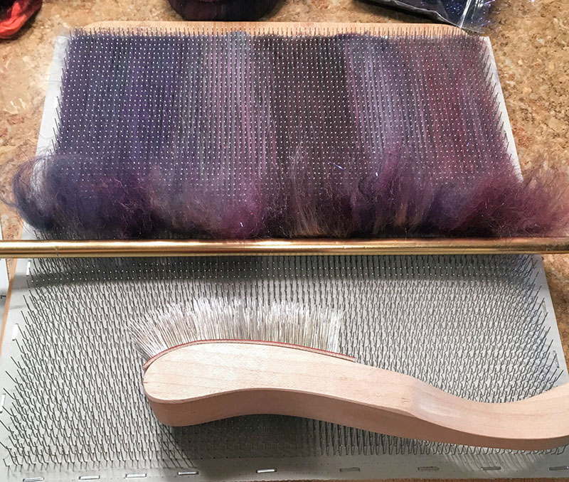 DIY Fiber Blending Board