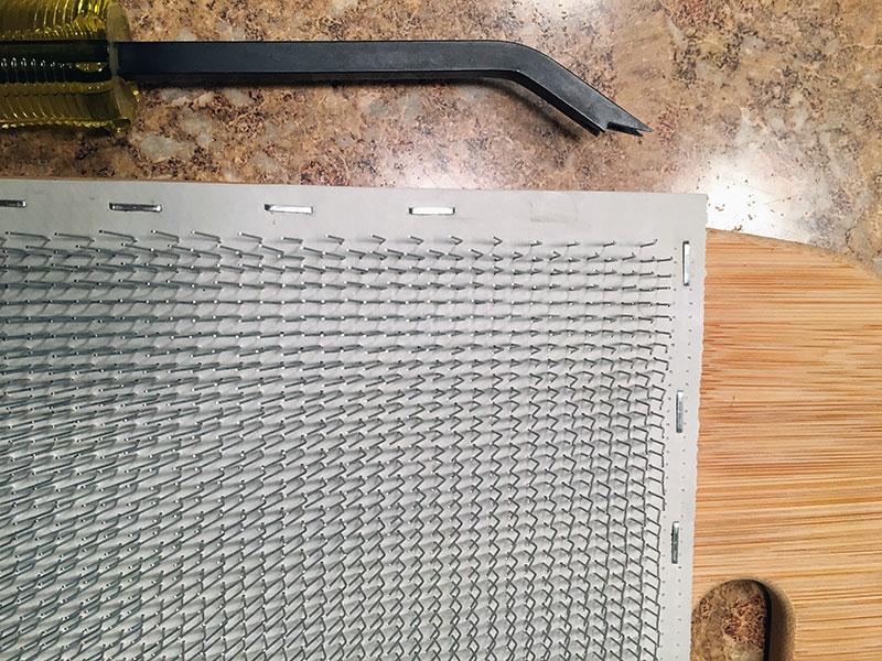 DIY Fiber Blending Board