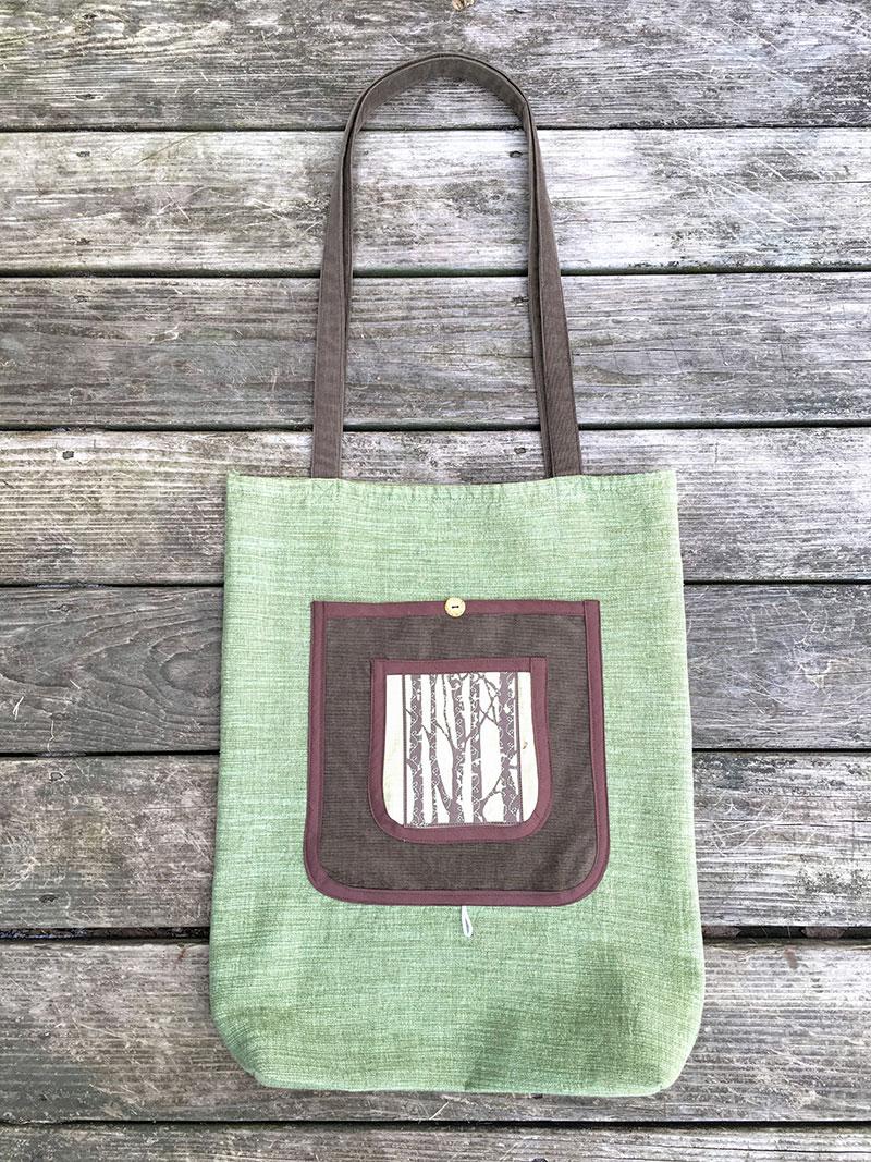 Reusable Shopping Bag Tutorial