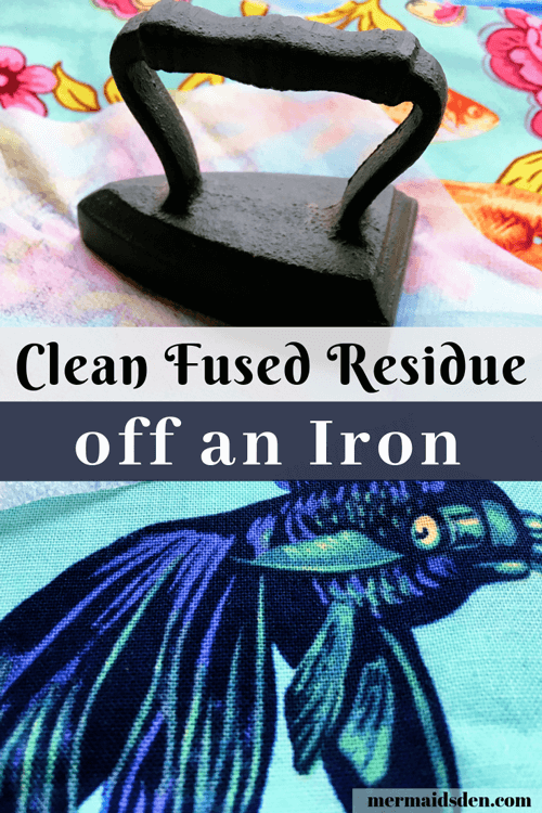 How to Remove Fused Residue from your Iron