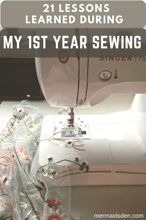 Lessons Learned from My First Year Sewing