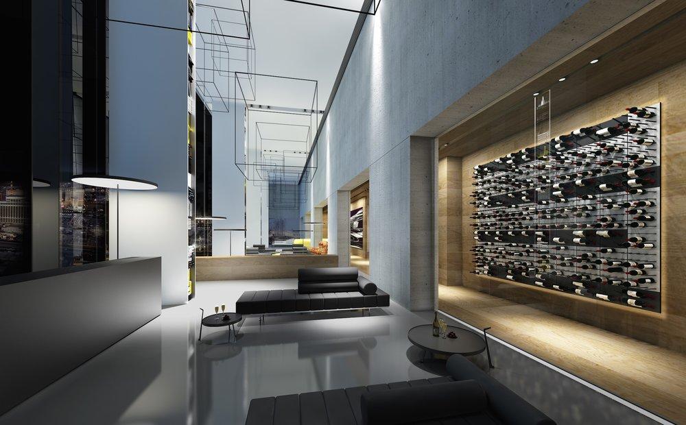 hotel foyer glass-enclosed wine cellar 2400px.jpg