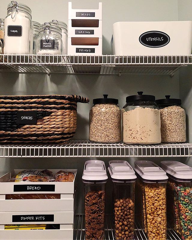 We had so much fun playing with some of @thecontainerstore's new + different products to create a cohesive look and sexy pantry space for our client! @neatmethod #neatdc  Screenshot this pic to get shoppable product details with the LIKEtoKNOW.it app  http://liketk.it/2ywa4 #liketkit  @liketoknow.it @liketoknow.it.home #LTKhome #LTKunder50 #theneatlife #pantry #beneat #containerstore #kitcheninspo #organizedhome #rsorganizing #organized #modernpantry #pantryorganization