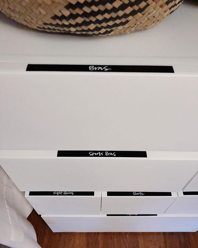 dres·ser /ˈdresər/ noun :: a chest of drawers.  This may not be the fanciest dresser you've seen, but it is indeed a dresser because we made it one 🤗 I love modular bins - so functional!  Have you revolted against dressers and don't currently have one? Try these bins to help with at least your undergarments. Trust me, your bras will thank you.  Download the LIKEtoKNOW.it app to shop this pic via screenshot  @neatmethod #neatdc #theneatlife #organizedcloset #rsorganizing #organizedhome #reachincloset #organized #livesimply #containerstore  http://liketk.it/2yNFx #liketkit @liketoknow.it #LTKunder50 #LTKhome @liketoknow.it.home